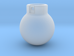 1-87 - 500KG- Wrecking Ball - Ball Shape in Smooth Fine Detail Plastic