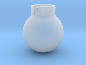 1-87 - 2000KG- Wrecking Ball - Ball Shape in Smooth Fine Detail Plastic
