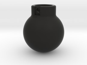 1-50 - 2000KG- Wrecking Ball - Ball Shape in Black Natural Versatile Plastic