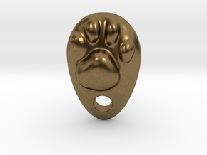Cat Hand A1 in Natural Bronze: Small
