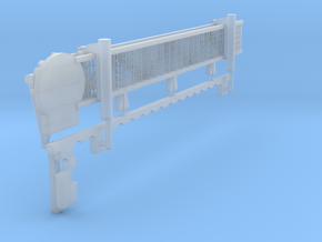 1:72 scale Walkway - Starbard - Long in Smooth Fine Detail Plastic