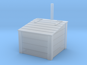 Sand box in Smooth Fine Detail Plastic