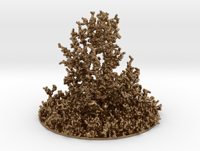 DLA bush (fat) in Natural Brass