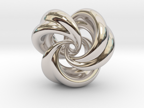 Integrable Flow (5, 3) in Rhodium Plated Brass