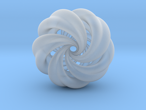 Integrable Flow (7, 5) in Smooth Fine Detail Plastic