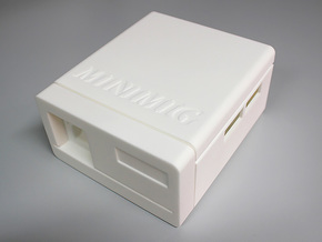 Minimig Case Mark-III in White Strong & Flexible