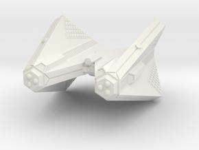 3788 Scale Tholian Web Caster Heavy Cruiser SRZ in White Natural Versatile Plastic
