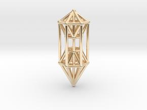 Phi Vogel Crystal Healingstick in 14k Gold Plated Brass