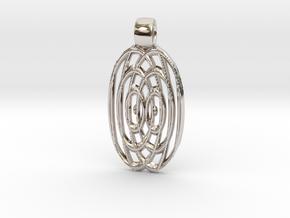 Waves  [pendant] in Platinum
