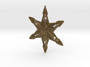 Snowflake A in Natural Bronze