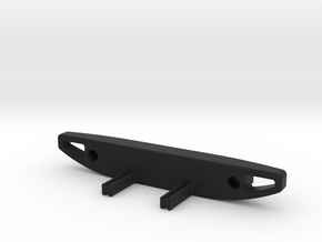 TRX-4 Rear Rubicon Inspired Bumper, Full Width in Black Premium Versatile Plastic