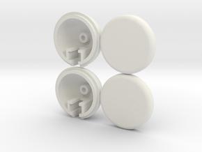 Marui Hunter/Galaxy Fog light set in White Natural Versatile Plastic