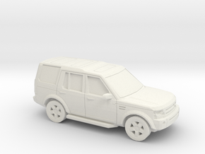 1/56 2004-09 Land Rover Discovery in White Natural Versatile Plastic