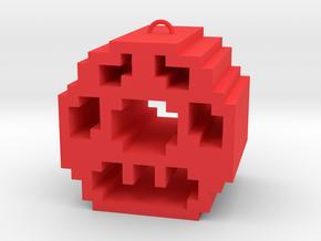 Mario Mushroom in Red Processed Versatile Plastic