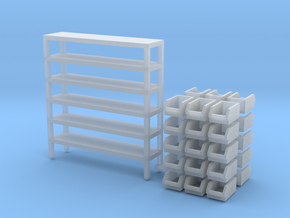 1/64 Rack Bin 2nd style in Smooth Fine Detail Plastic