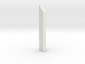 shkr002 - Teil 2 Stützmauer außen anliegend in White Natural Versatile Plastic