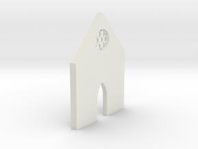shkr013 - Teil 13 Front niedrig kurz Fenster zierl in White Natural Versatile Plastic