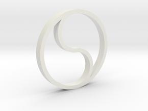 shkr022 - Teil 22 Fenster rund gotisch 1 in White Natural Versatile Plastic