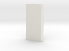 shkr027 - Teil 27 Seitenwand fensterlos angefast V in White Natural Versatile Plastic