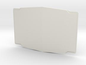The Duelist in White Premium Versatile Plastic