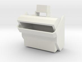ww2 1/16 scale british smoke dispenser for tanks in White Natural Versatile Plastic