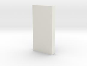shkr052 - Teil 52 Stützmauerpfeiler 1-3 Höhe in White Natural Versatile Plastic