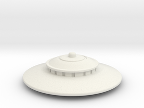 Saucer series 2012 in White Natural Versatile Plastic