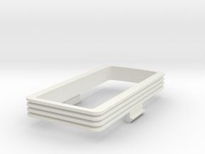 Plan U bak overgang, scale 0 (1:45) in White Natural Versatile Plastic