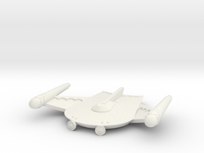 3125 Scale Romulan Scout Eagle MGL in White Natural Versatile Plastic
