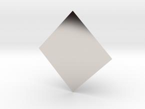 FiddlePyramid in Platinum: Extra Small