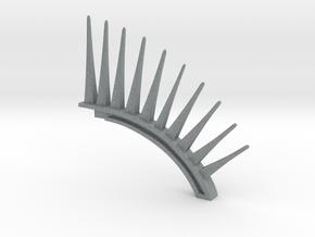 Teleportation spine in Polished Metallic Plastic