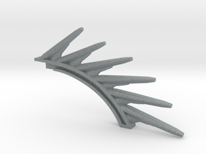 Gravity spine in Polished Metallic Plastic
