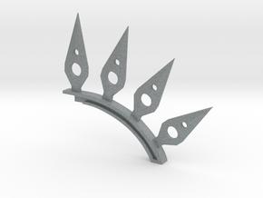Adaptation spine in Polished Metallic Plastic