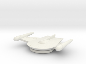 3788 Scale Romulan Freight Eagle MGL in White Natural Versatile Plastic