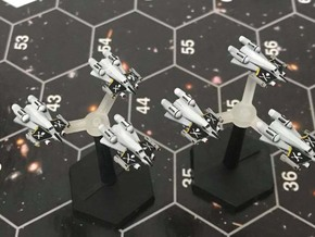 """Omni Scale Federation F-14 """"Tomcat"""" Fighters MGL in Smooth Fine Detail Plastic"""