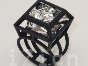 ring06 17 in Black Natural Versatile Plastic