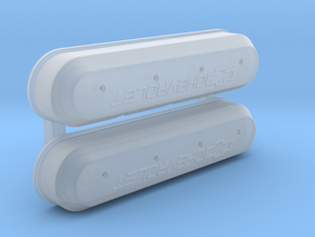 Chevrolet Racing LS Valve Covers in Smoothest Fine Detail Plastic