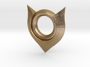 Zoe Amulet League of Legends (rough) in Polished Gold Steel