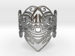 Art Nouveau Bracelet in Polished Silver