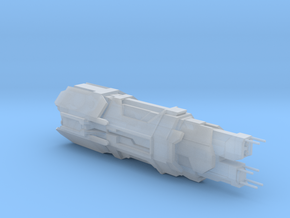 UNSC Cruiser Mare in Smooth Fine Detail Plastic