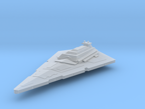 ISD Imperial Star Destroyer TEST in Frosted Ultra Detail