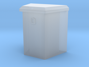 """1/64 21"""" trailer tongue box in Smooth Fine Detail Plastic"""
