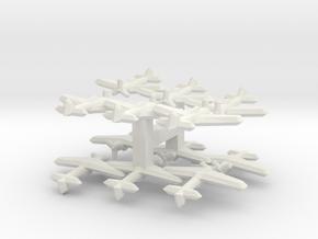 A6M3 Hamp (1/900) x4 in White Natural Versatile Plastic