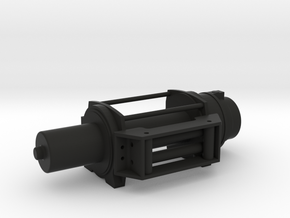 Offroad - Winch - RIGHT Version - 1/10 in Black Natural Versatile Plastic