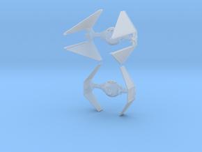 1/144 TIE Interceptor in Smooth Fine Detail Plastic