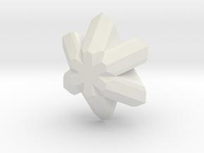 Chrysoberyl, 25 mm in White Natural Versatile Plastic