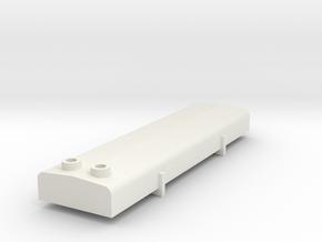NS 2200 Demper, Scale 0 (1:45) in White Natural Versatile Plastic