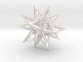 JORGE'S STAR in White Natural Versatile Plastic