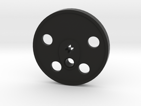 XXL Disc Driver - Blind, Large Counterweight in Black Premium Versatile Plastic