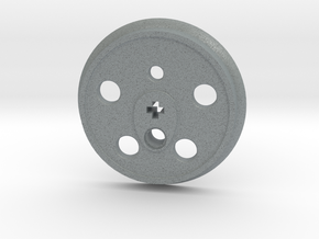 XXL Disc Driver - Small Counterweight, No Groove in Polished Metallic Plastic